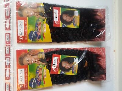 Pick And Drop Rio Curly  Brazil  Samba Darling Braids  Colour  33 (dark brown)