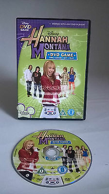 Disneys Hannah Montana DVD Game- Miley Cyrus Sing Act Dance Play- Singing