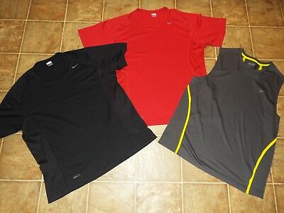 3 Piece lot men's size XL Nike Old Navy active tops