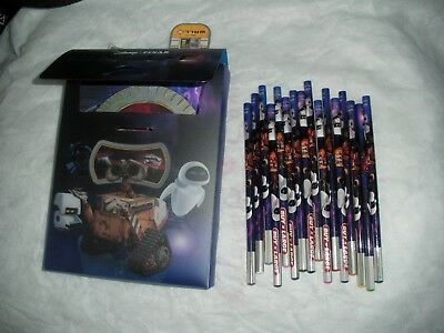 Disney Pixar Wall-e Pencil case with pencil and pad & sharpener collectable