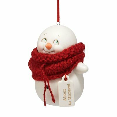 Department 56 Snowpinions About to Unravel Ornament, 3.25 inch