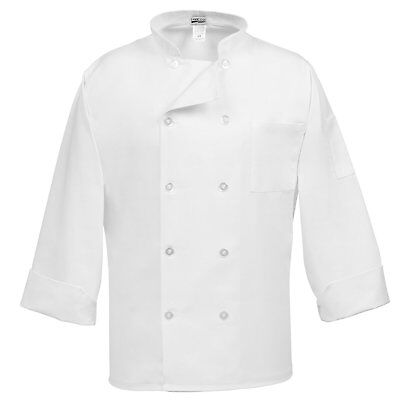 Fame Adults 10 Button Chef Coat -White-2XL