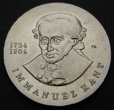 GERMANY (DDR) 20 Mark 1974 - Silver - Death of Immanuel Kant, philosopher - 240
