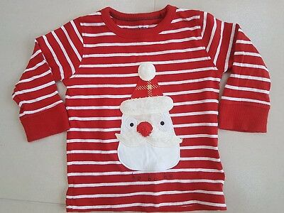 ☆☆Next WORN ONCE Boy's / girls Christmas Top. Age 9-12 months☆☆