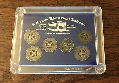 K-Trans Historical Tokens Limited Edition Collection Knoxville, TN Sealed Tokens