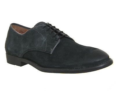 Mens Ask the Missus Grey Suede Lace Up  Formal Shoes UK Size 9*Ex Display