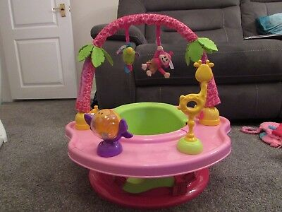 Summer Infant 3 In 1 Stage Super Seat Baby Activity Feeding Booster Chair