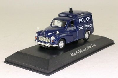 Atlas Editions Morris Minor 1000 Best of British Police Cars' - Model Scale 1:43