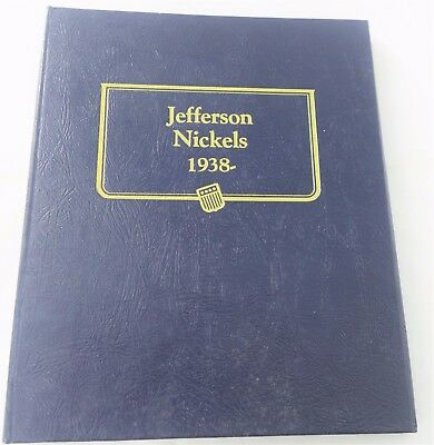 1938 - 1979 Partial Jefferson Nickel Set 106/107 Coins w/ Proofs Whitman A929