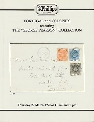 Stamps - Auction Catalogue - Portugal and Colonies - George Pearson Collection