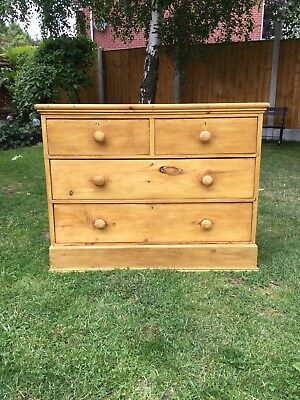 Victorian Waxed Pine Drawers