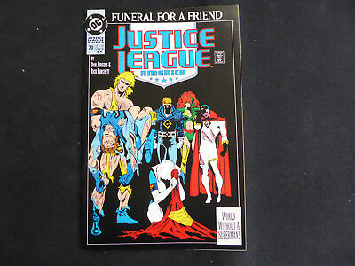 Justice League America # 70 - Funeral for a Friend  (Jan 1993, DC)