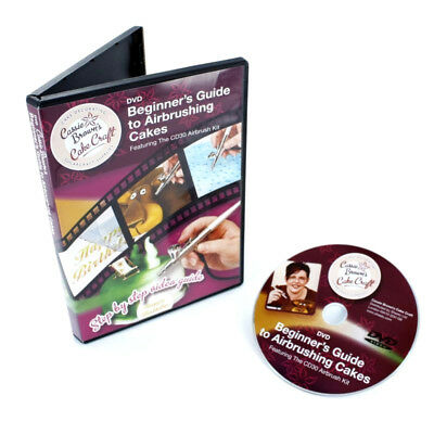 Cassie Browns Beginners Guide to Airbrushing Bake Cakes Decorated Craft New DVD