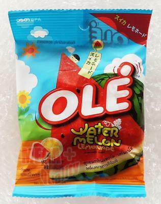 Ole Fresh Watermelon Lemonade Flavour Candy Tropical Thai Fruit Sweet + Sour 40g