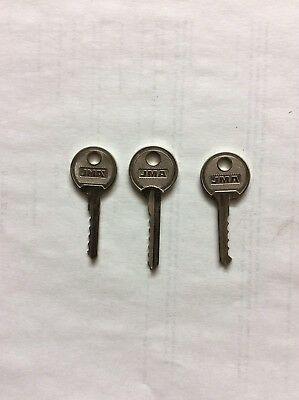 Locksmith bump key set