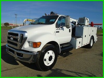 2008 Ford F750 XL Service Truck Used