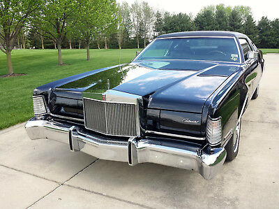 1973 Lincoln Continental Mark IV 1973 Lincoln Continental Mark IV Triple Black Museum Quality Survivor