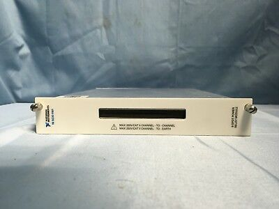 National Instruments SCXI-1161 8-SPDT Power Relay Module Card
