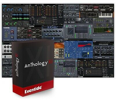 New Eventide Anthology XI Native Plug-In Bundle Mixing Mastering 17 Products