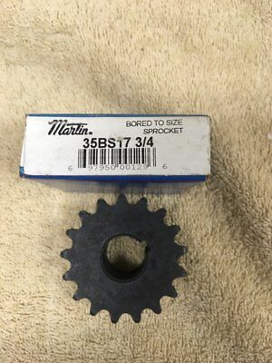 Martin 35Bs17 3/4 Bored To Size Spocket