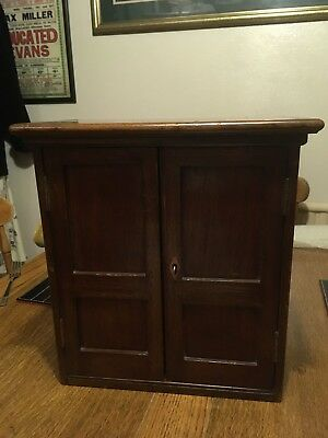 Apprentice Piece, Wardrobe Style Chest With 6 Drawers And Locking Doors
