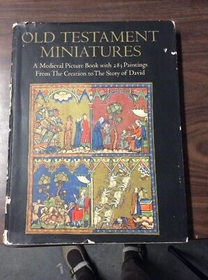 Old Testament Miniatures by Sidney Cockerell 1975 George Braziller