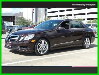 2010 Mercedes-Benz E-Class E 350 Luxury 2010 E 350 Luxury Used Certified 3.5L V6 24V Automatic Rear Wheel Drive Sedan