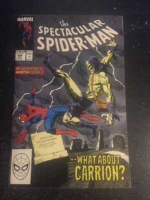 Spectacular Spider-Man#149 Incredible Condition 9.4 Carrion Beatdown(1989) Cool!