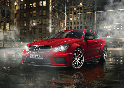 CAR POSTER AA614 MERCEDES-BENZ CLS 63 AMG Photo Poster Print Art * All Sizes