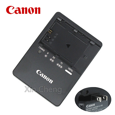 Genuine Canon LC-E6 LP-E6 Battery Charger EOS 5D Mark II III 6D 60D 7D 70D 80D