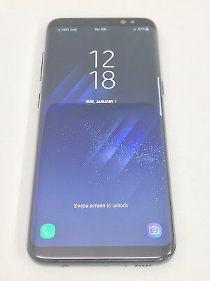 Samsung Galaxy S8 SM-G950F Smartphone 64GB Midnight Black Unlocked International