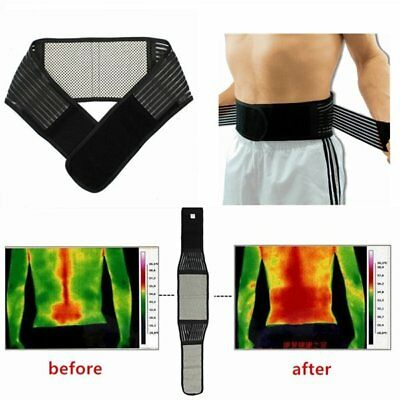 Magnetic Therapy Lower Back Waist Support Belt Self Heating Backache Pain Relief
