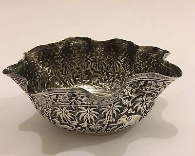 Superb Quality Antique Islamic Indian Silver Bowl