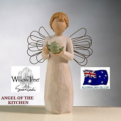Willow Tree ANGEL OF THE KITCHEN Figurine By Susan Lordi By Demdaco NEW IN BOX