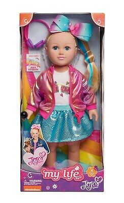 JOJO SIWA MY LIFE As Doll WALMART EXCLUSIVE 18 inch and BOWBOW plush dog