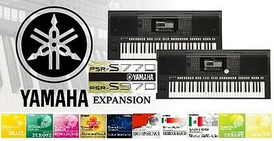 Yamaha PSR S970 /S770 Expansion- Styles & Sounds (All this packs +Premium)