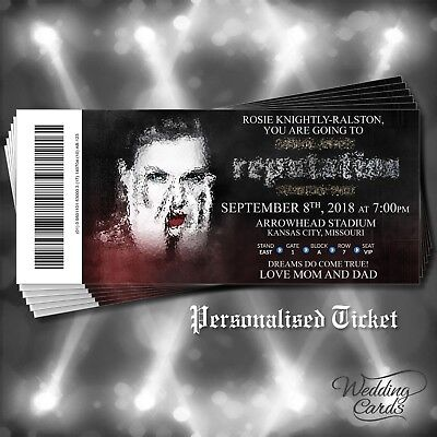 Taylor swift reputation 2018 ticket concert tour wallet card taylor swift reputation 2018 ticket concert tour wallet card birthday invitation filmwisefo