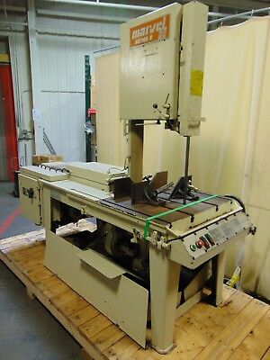 "Industrial Marvel Vertical Band Saw Series 8 Mark I 16"" x 18"" Capacity"