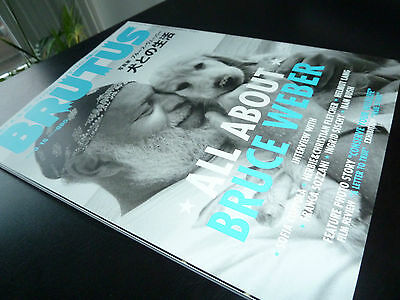 All About BRUCE WEBER Brutus JAPANESE MAGAZINE SPECIAL ISSUE Male Models MINT