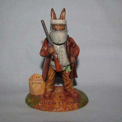 ROYAL DOULTON BUNNYKINS NED KELLY DB406 BOXED MINT SIGNED last one!