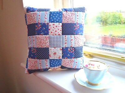 Patchwork Quilting Kit Cushion Craft Easy Beginner Hand Sewing Machine Project !