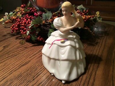 Rare Royal Doulton Prototype Figurine - Exclusive One Of A Kind Model