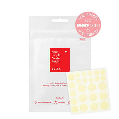 COSRX Acne Pimple Master Patch x 1 Sheet (24 Patches) New Edition *UK Seller*