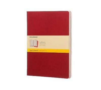 Cahier squared XL, red - NUOVO