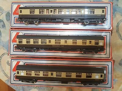 lima great western coaches 305313 x2 and 305322