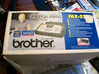 Brother FAX-575 Personal Fax Phone and Copier - BRAND NEW