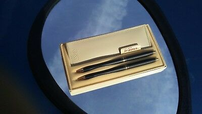 CROSS Black Ladies Ball Pen/ Pencil set New Old Stock never used.
