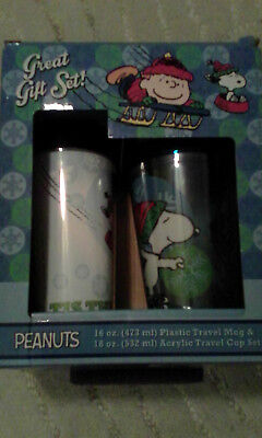 Peanuts Great Gift Set With Charlie Brown and Snoopy