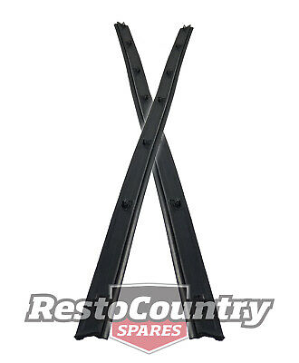 Ford Door Weather Belt Rear Outer Pair LEFT + RIGHT XC ZH Sedan Wagon seal glass