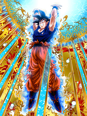 Sticker Autocollant Poster A4 Dragon Ball Z Sangoku Genkidama